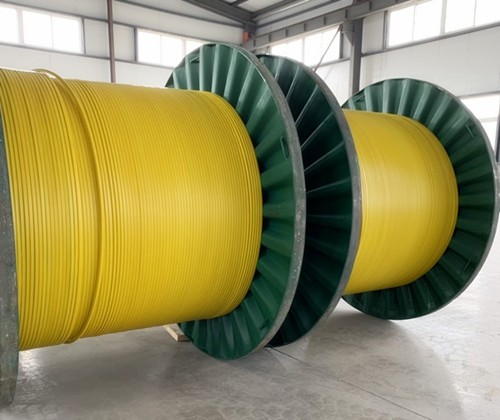 ROUND TUBING ENCAPSULATED CABLE,1/4