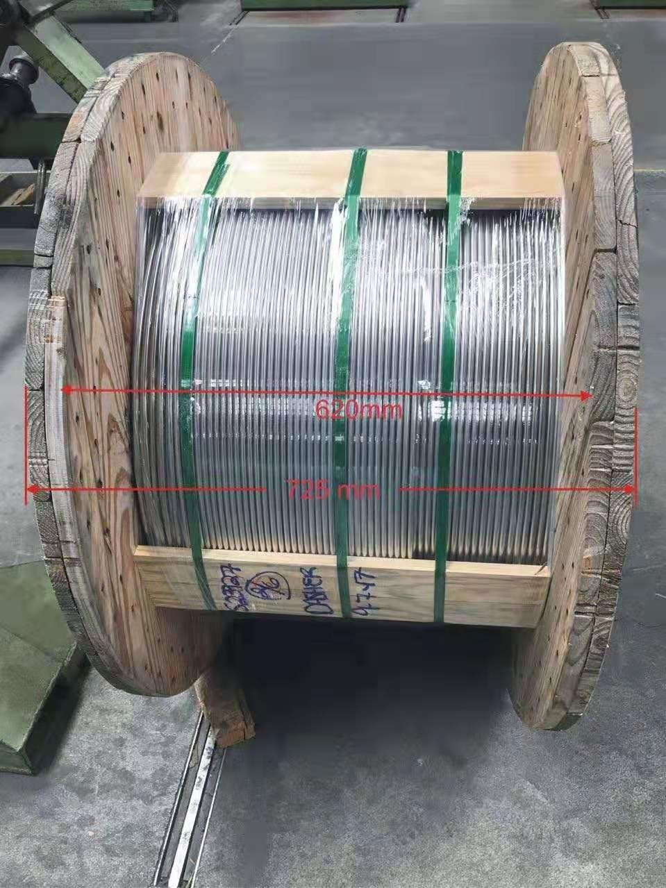 Control Line Coil Tubing