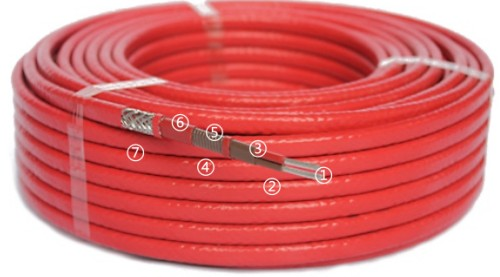 RDP2 Type Single Phase Heating Cable
